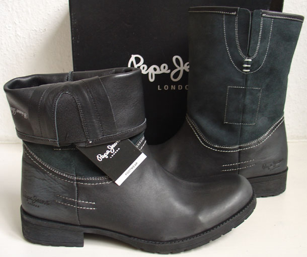 pepe jeans stiefel boots schuhe akt mod ran 131 ebay. Black Bedroom Furniture Sets. Home Design Ideas