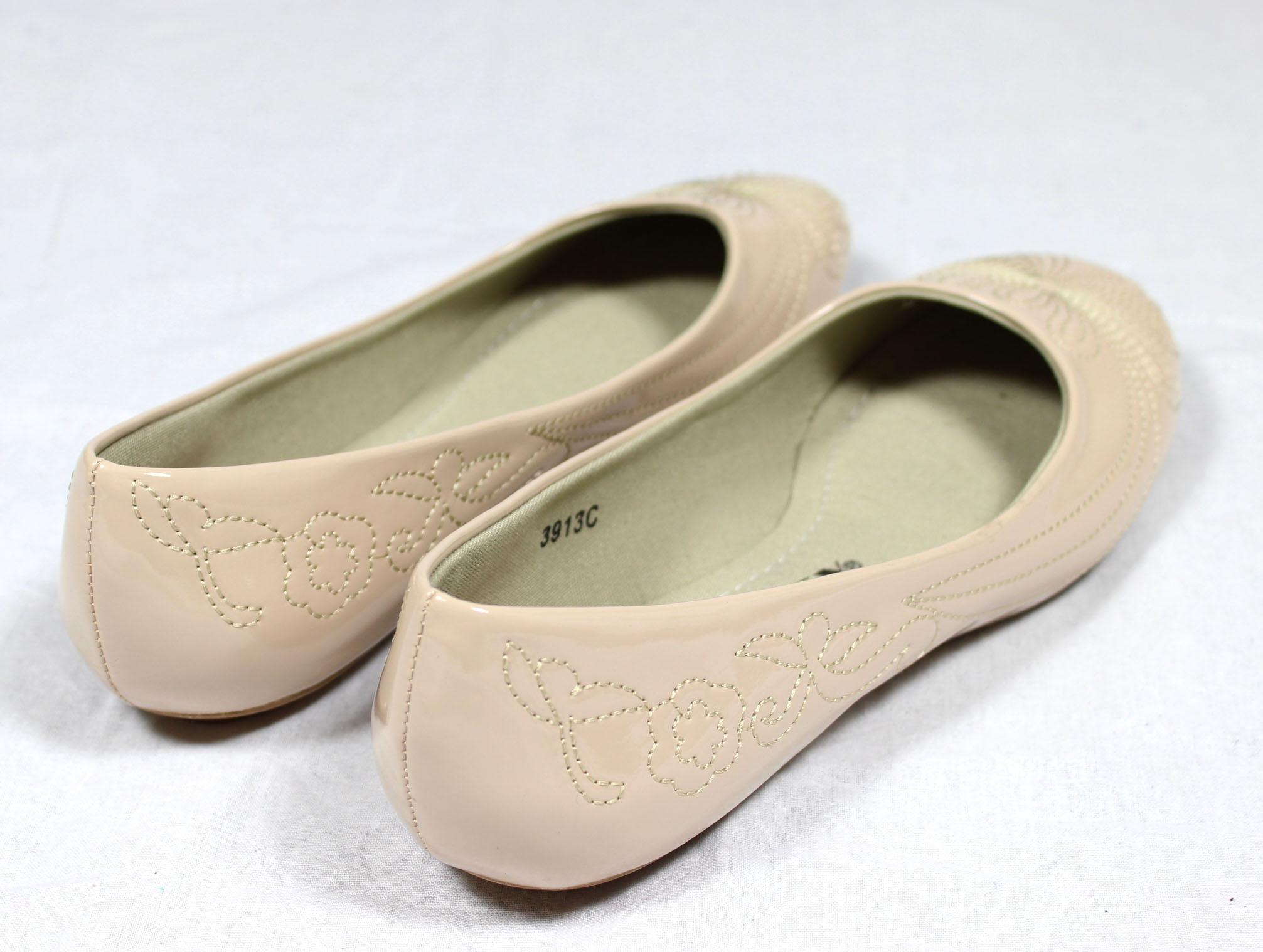 s e jumex ballerinas mod 3913c lack halbschuhe schuhe ballerina beige neu ebay. Black Bedroom Furniture Sets. Home Design Ideas