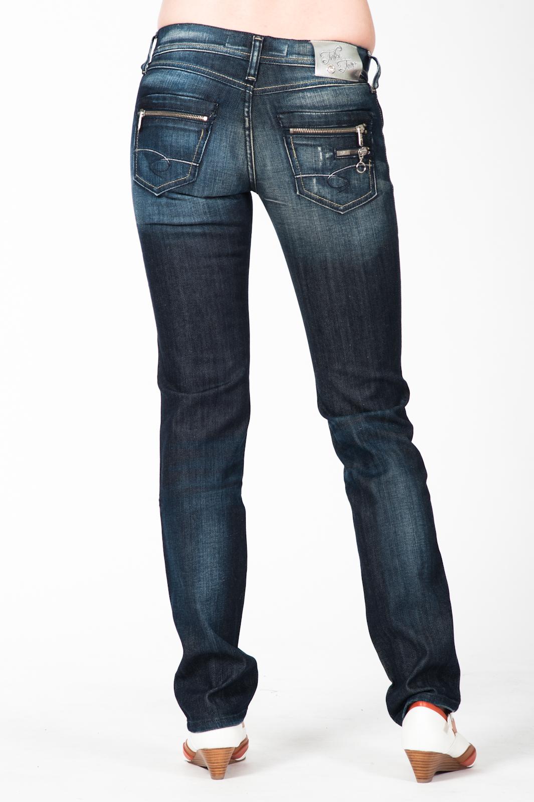 take two damenjeans mod kinsley jeans hose girls blau neu. Black Bedroom Furniture Sets. Home Design Ideas